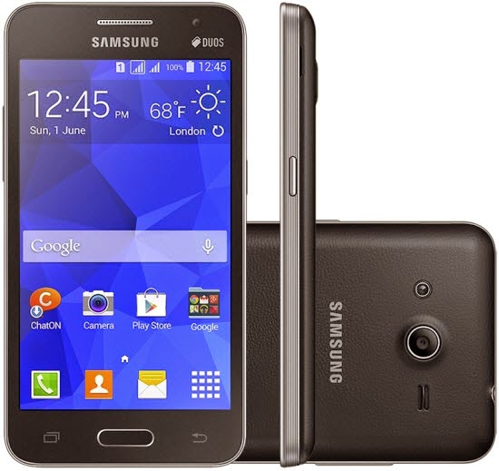 how to update galaxy core 2